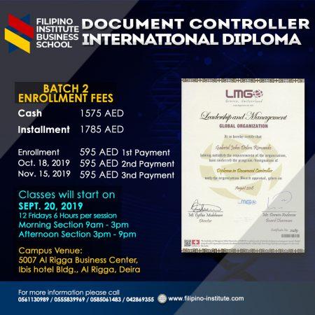 Document Controller International Diploma