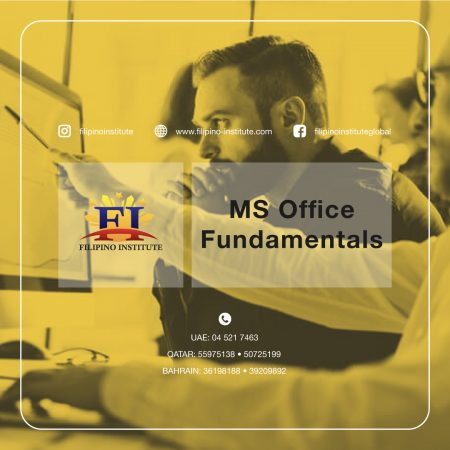 MS Office Fundamentals